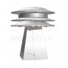 Smartflow vilkmes regulators dūmvadam universāls 130 – 265 mm