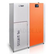 HKS LAZAR granulu apkures katls SmartFire 11kW ar 150L bunkuru
