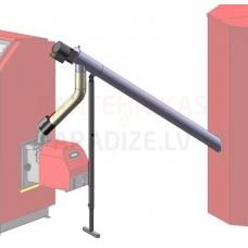 ATMOS granulu padeves DA1500 1.5m DN75mm