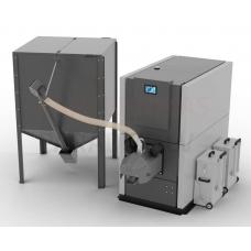 SOKOL granulu apkures katls GRAND PELLET  50kW ar automātisko tīrīšanu