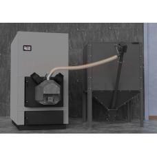SOKOL granulu apkures katls GRAND PELLET 200kW ar automātisko tīrīšanu