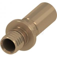 TECEflex 16 lodējama pāreja uz V M bronzas tērauda caurulēm ø 15mm