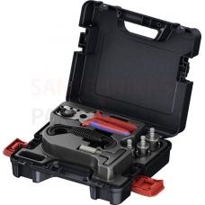 TECElogo instrumentu komplekts 16–25 (cauruļu šķēres, kalibrēšanas instruments, atslēga cauruļu demontēšanai)