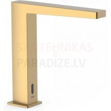 TRES SLIM elektronisks izlietnes jaucējkrāns, viena strūkla, zelta, gold matēts