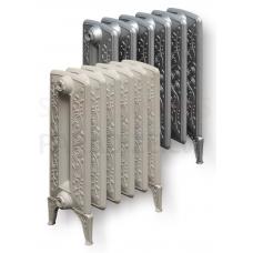 Viadrus čuguna radiators BOHEMIA R ar rotājumu 450/225 (1 riba/sekcija) 110W ar kājām