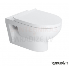 Duravit Durastyle Basic Rimless WC piekaramais tualetes pods ar vāku Soft Close