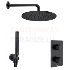 BOSSINI dušas komplekts COSMO TERMO 280 (Black)