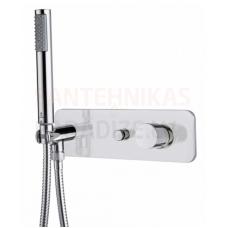 BOSSINI zemapmetuma termostata dušas/vannas jaucējkrāns (Chrome)