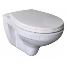 Lecico WC piekaramais tualetes pods SIDNEY ar vāku