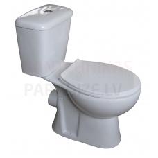 Tualetes pods WC MILA (horizontalais izvads) ar Soft Close vāku