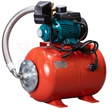 LEO ūdens apgādes sūknis APM37-24LB 0.37kW ar spiedkatlu 24 litri