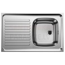 BLANCO nerūsejošā tērauda virtuves izlietne Lay-on sink R-ES 80x50
