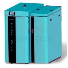 Centrometal kombinētais pirolīzes malkas-granulu apkures katls BIOTEC PLUS 25kW