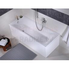 Colombo taisnstūra akrila vanna FORTUNA 150x70