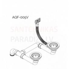 Aquasanita noplūde izlietnei AQF-005V