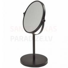 Spogulis Beau, d=195 mm, h=330, 3x palielina, melns