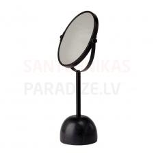 Spogulis Yana, d=195 mm, h=370, 2x palielina, melns