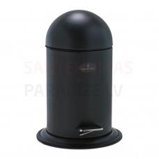 Atkritumu tvertne ar pedāli Ona, 3l, melna