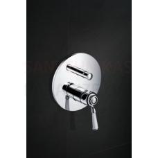 CALITRI CAL-BPD.220C zemapmetuma jaucējkrāns dušai ar slēdzi