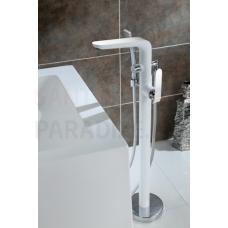 EMIRA uz grīdas brīvi stāvošs jaucējkrāns vannai ar rokas dušu