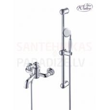 CALITRI CAL-BWN-KP.020C vannas jaucējkrāns ar dušu un dušas stieni