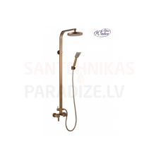 GALA-OLD GOLD dušas sistēma ar izteci vannai