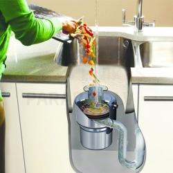 Smalcinātāji virtuves izlietnei