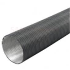 EUROPLAST gaisa vads alumīnija, Ø100mm-3m antracīts