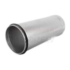 EUROPLAST garais gaisa vada-fasondaļas savienojums Ø 80mm 0.15m ar gumijām