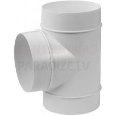 EUROPLAST trejgabals plastmasas, Ø125-125mm AT125