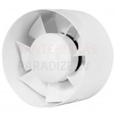 EUROPLAST kanāla ventilators E-EXTRA, Ø125mm ar taimeri EK125T