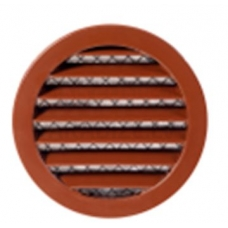 EUROPLAST reste alumīnija sakausējuma, Ø100mm, brūna MRA100B