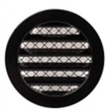 EUROPLAST reste alumīnija sakausējuma, Ø100mm, melna MRA100M