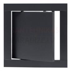 EUROPLAST revīzijas lūka plastmasas, 150x150mm, antracīts PL1515A