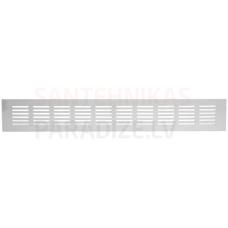 EUROPLAST reste alumīnija, 80x500mm, balta RA850