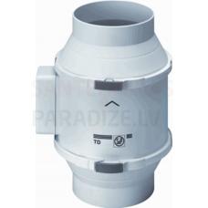 S&P kanāla ventilators TD-250/100 SILENT (230-240V 50/60)  RE