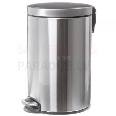 FANECO Atkritumu tvertne ar pedāli, WBP12JS, 12L