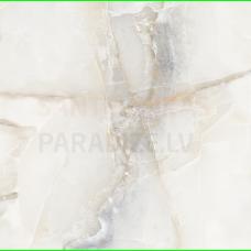 Glancētas akmens flīzes - sienām, grīdai, fasādei 60x60cm AQUARIUS ONYX GREY Marble / 8 FACES