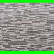 Dekors / klinkera flīzes ar akmens rakstu iekštelpām un fasādei TIF GREY 15x61cm