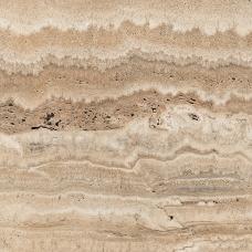 Glancētas akmens flīzes - sienām, grīdai, fasādei 60x60cm TRAVERTINE CLASSIC / 8 faces
