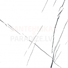 Glancētas akmens flīzes - sienām, grīdai, fasādei 60x60cm CARRARA MODERN / 6 faces