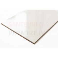 Glancēta sienas flīzes 25x37.5cm WALL WHITE