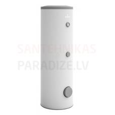 GALMET SOLAR SLIM  200 litri emaljēta tvertne (šaurā - 60 cm) ar 2 s/m 1.0+0.7m2