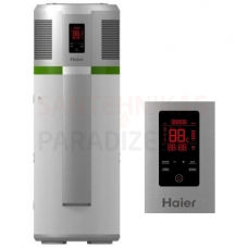 Elektriskais ūdens sildītājs 200l ar gaisa siltumsūkni, vertikāls