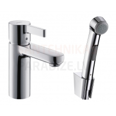 Hansgrohe izlietnes jaucējkrāns ar higiēnas dušu METRIS S