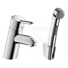 Hansgrohe izlietnes jaucējkrāns ar higiēnas dušu FOCUS S