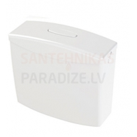 KPOL skalojamā kaste WC podam ar stop funkciju 6 litri 340 x 360 x 140