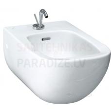 Bidē Palomba, stiprināms pie sienas, 360x540 mm, balts