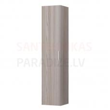 Augstais skapis Base, 350x335 mm, h=1650 mm, 1D, kreisā puse, light elm