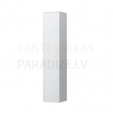 Augstais skapis The New Classic, 330x330 mm, h=1600 mm, 1D, labā puse, spīdīgi balts
